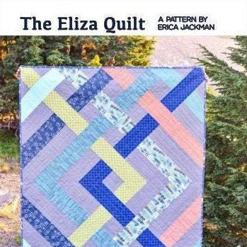 The Eliza Quilt Paper Pattern by Kitchen Table Quilting - brewstitched.com