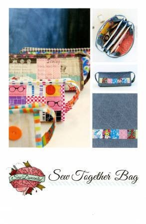 Sew Together Bag Paper Pattern - brewstitched.com
