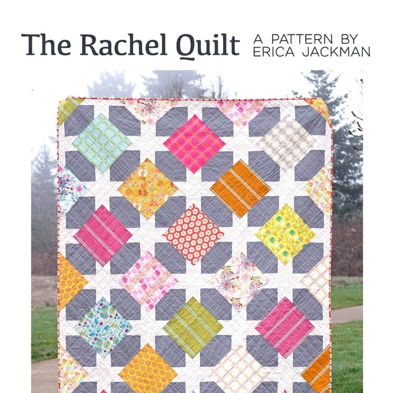 The Rachel Paper Quilt Pattern by Kitchen Table Quilting - brewstitched.com