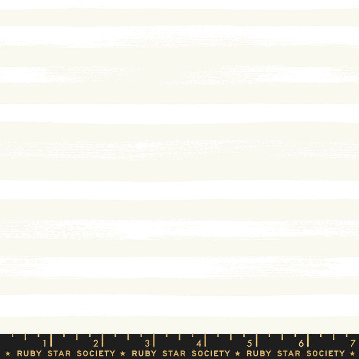 Zip Stripe White - Priced by the Half Yard - brewstitched.com