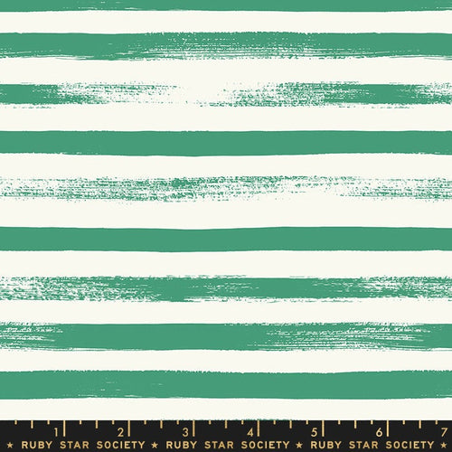 Zip Stripe Emerald Green - Priced by the Half Yard - brewstitched.com