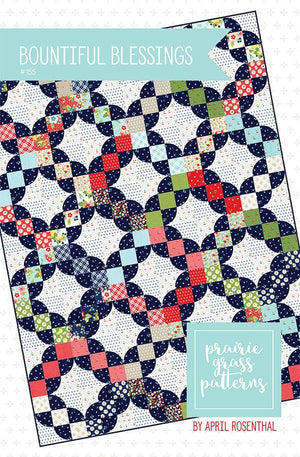 Orchard Bountiful Blessings Quilt Paper Pattern by Prairie Grass Patterns - brewstitched.com