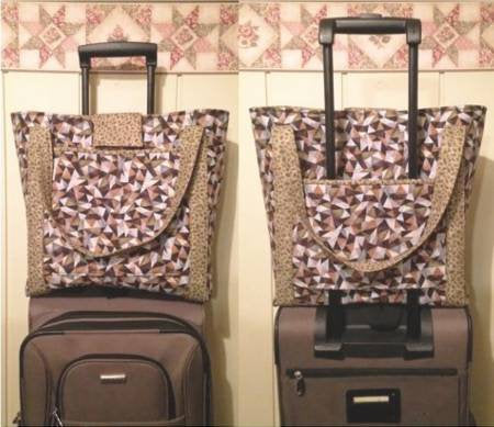 Luggage rider carry-on bag Paper Pattern - brewstitched.com