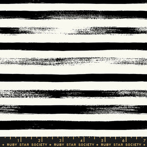 Zip Black Stripes - Priced by the Half Yard - brewstitched.com