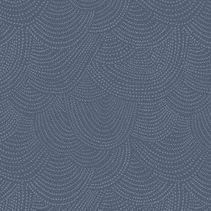 Scallop Dot in Denim - brewstitched.com