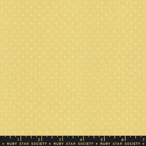 Add It Up Soft Yellow - Priced by the Half Yard - brewstitched.com