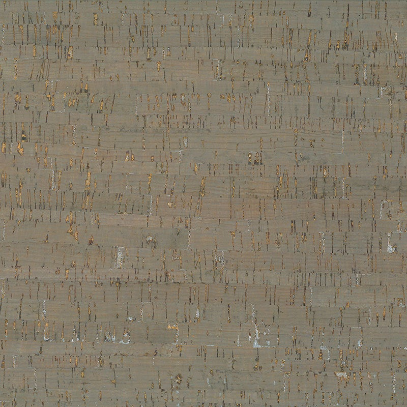 Taupe/Silver Cork Fabric 18 x 15 inch Sheet - brewstitched.com