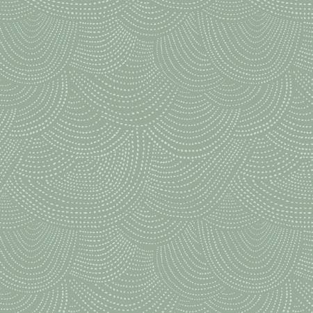 Scallop Dot in Ivy - Priced by the Half Yard - brewstitched.com