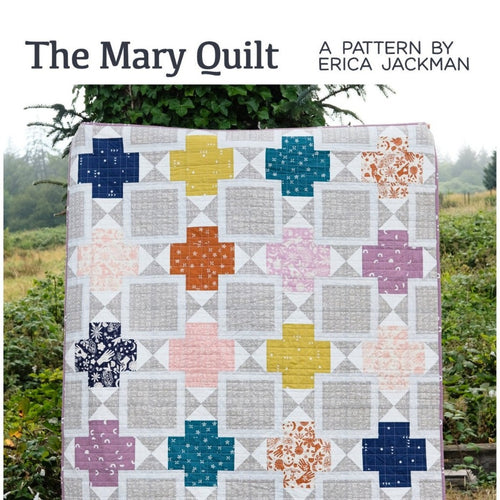 The Mary Quilt Paper Pattern by Kitchen Table Quilting - brewstitched.com