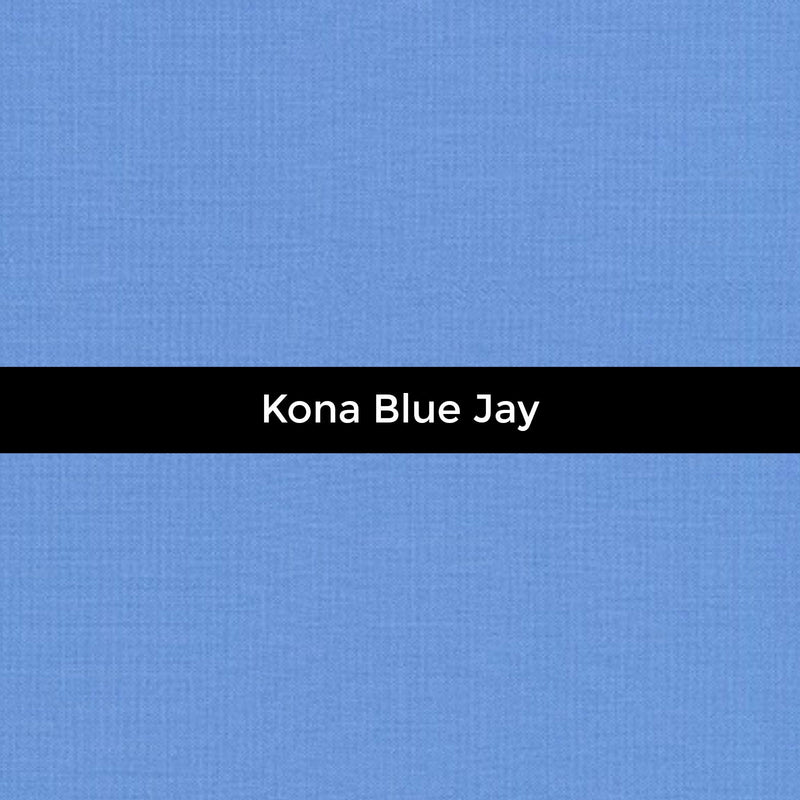 Kona Blue Jay - Priced by the Half Yard - brewstitched.com