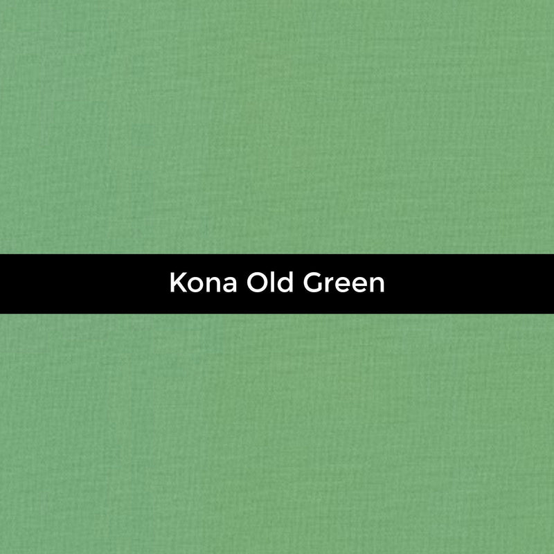 Kona Old Green - Priced by the Half Yard - brewstitched.com