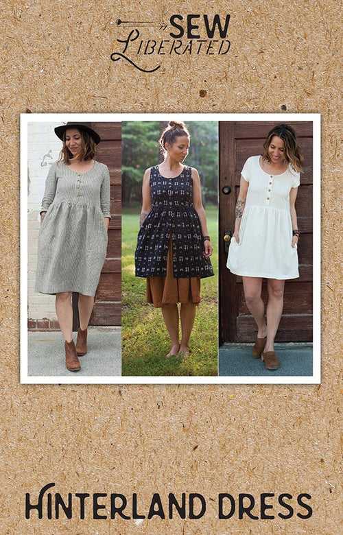 Hinterland Dress SL N131 Paper Pattern from Sew Liberated - brewstitched.com