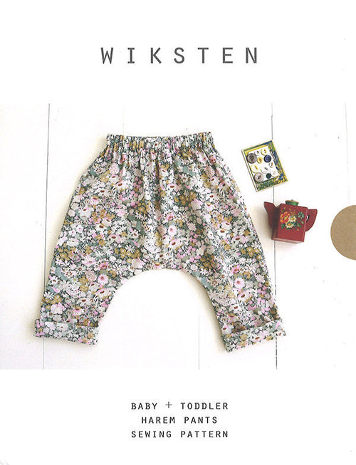 Baby/Toddler Harem Pants from Wiksten Patterns - brewstitched.com