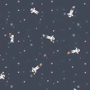 Eclipse This Astronauts in Asphalt - Priced by the Half Yard - brewstitched.com
