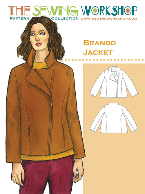 Brando Jacket Paper Pattern from The Sewing Workshop - brewstitched.com