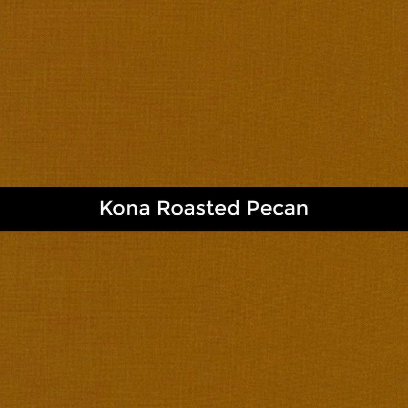 Kona Roasted Pecan - Priced by the Half Yard - brewstitched.com
