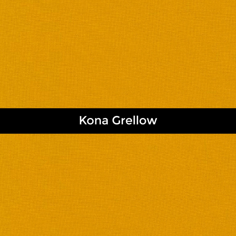 Kona Grellow - Priced by the Half Yard - brewstitched.com