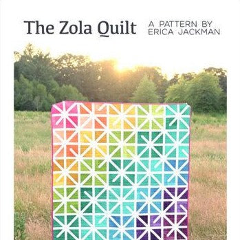 The Zola Quilt Paper Pattern from Kitchen Table Quilting - brewstitched.com