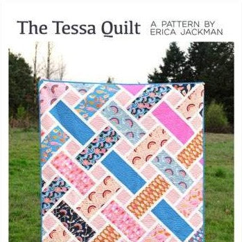 The Tessa Quilt Paper Pattern by Kitchen Table Quilting - brewstitched.com