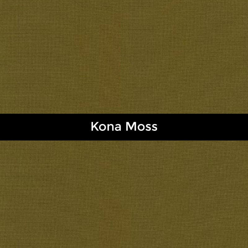 Kona Moss - Priced by the Half Yard - brewstitched.com