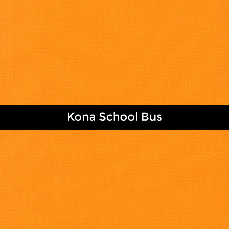 Kona School Bus - Priced by the Half Yard - brewstitched.com