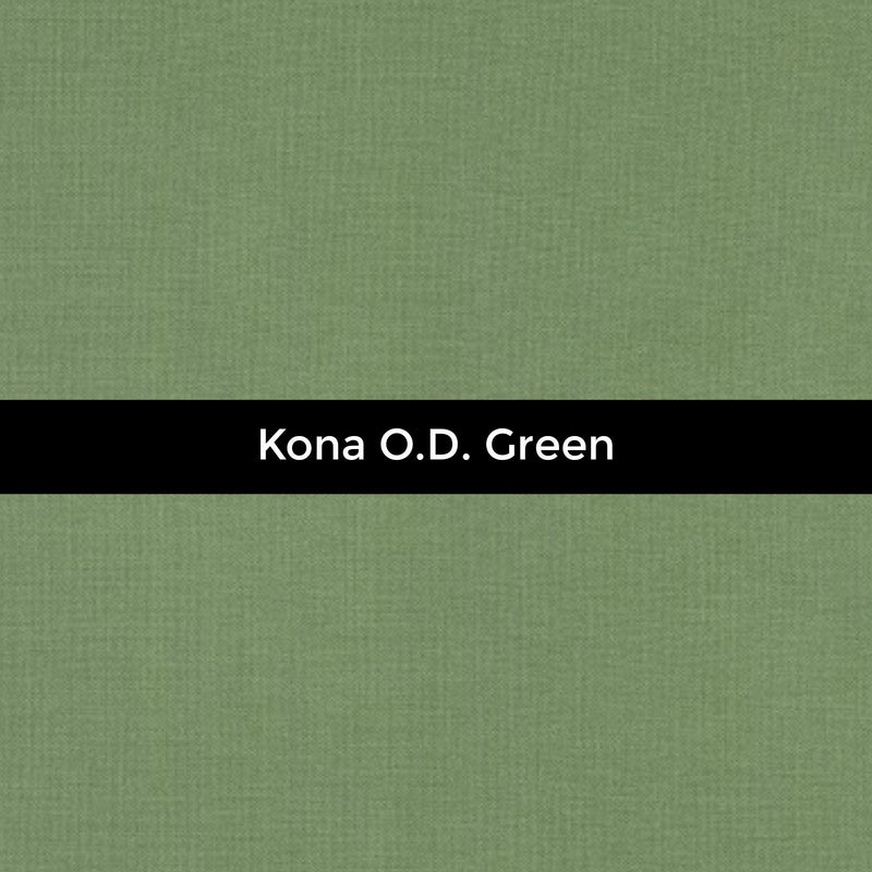 Kona O.D. Green - Priced by the Half Yard - brewstitched.com