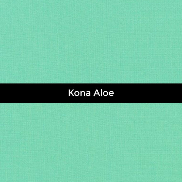 Kona Aloe - Priced by the Half Yard