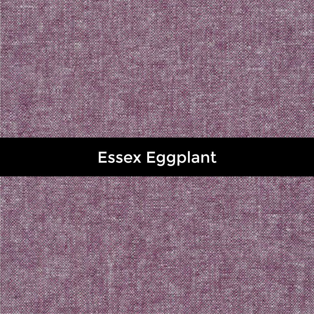 Essex Linen in Eggplant - Priced by the Half Yard - brewstitched.com