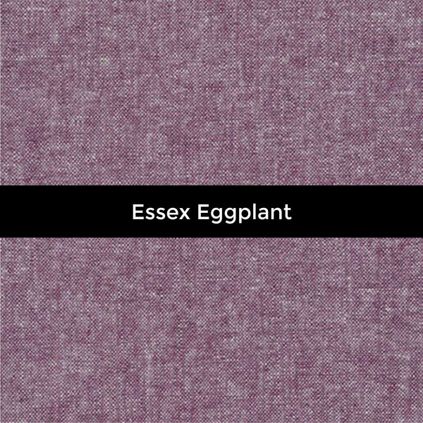 Essex Eggplant Linen - Sold by the Half Yard