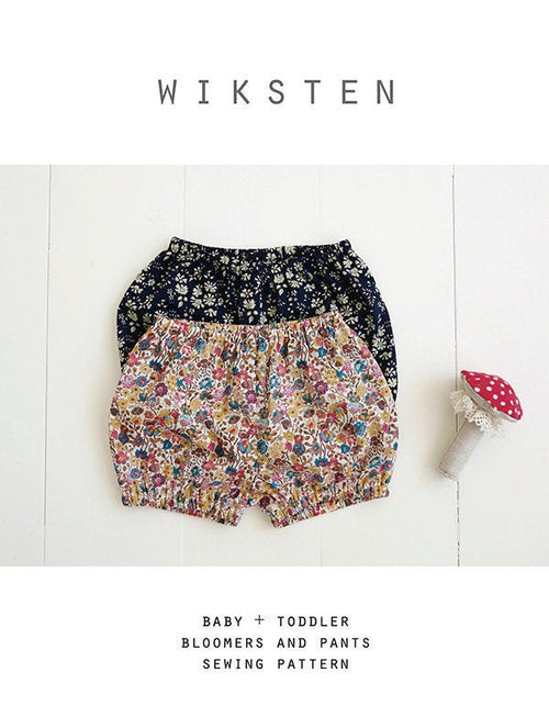 Baby/Toddler Bloomers/Pants from Wiksten Patterns - brewstitched.com