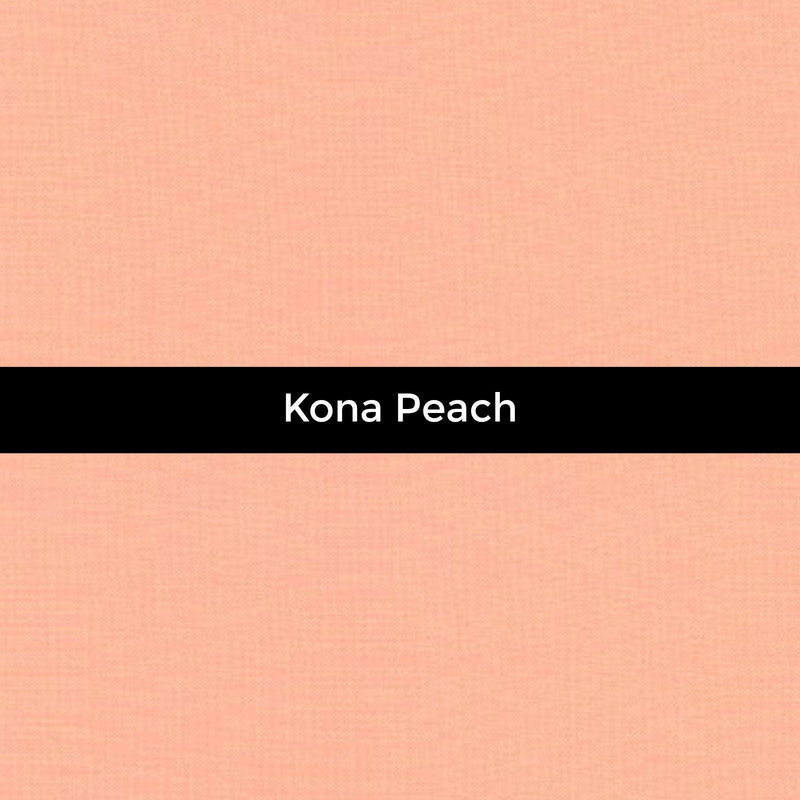Kona Peach - Priced by the Half Yard - brewstitched.com