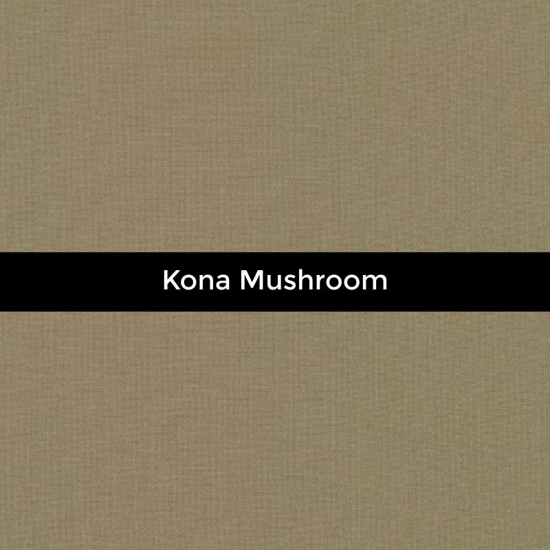Kona Mushroom - Priced by the Half Yard - brewstitched.com