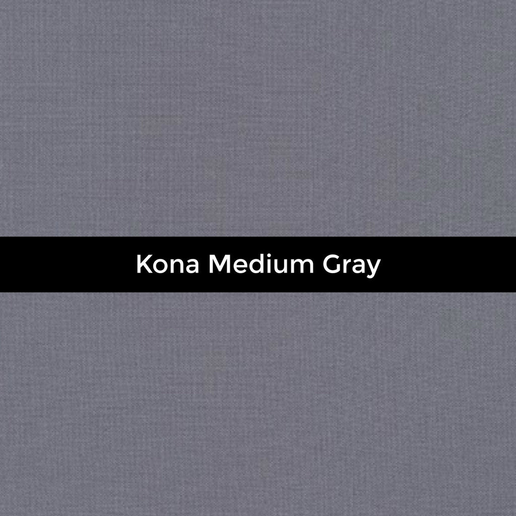 Kona Medium Gray - Priced by the Half Yard - brewstitched.com