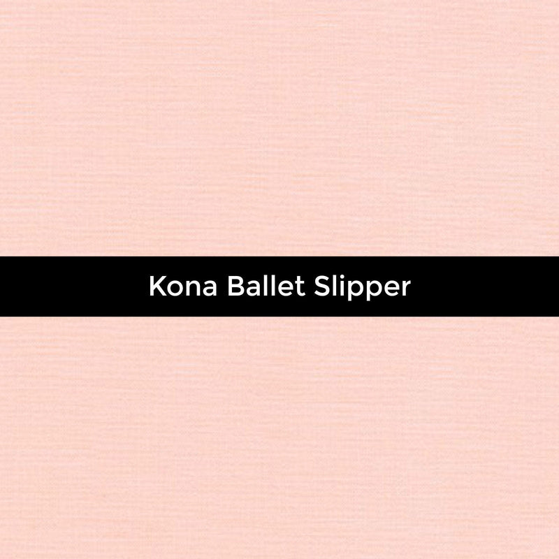 Kona Ballet Slipper - Priced by the Half Yard - brewstitched.com