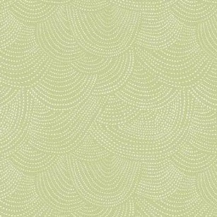 Scallop Dot in Leek - Priced by the Half Yard - brewstitched.com