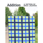 Addition Quilt Paper Pattern from Kitchen Table Quilting - brewstitched.com