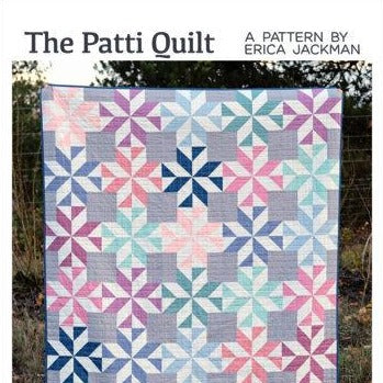 The Patti Quilt Paper Pattern from Kitchen Table Quilting - brewstitched.com