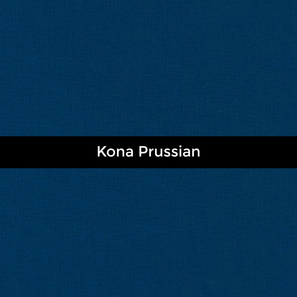 Kona Prussian - Priced by the Half Yard - brewstitched.com