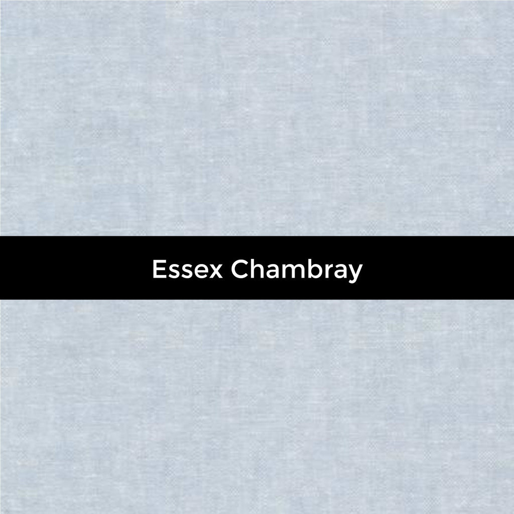 Essex Linen in Chambray - Priced by the Half Yard - brewstitched.com