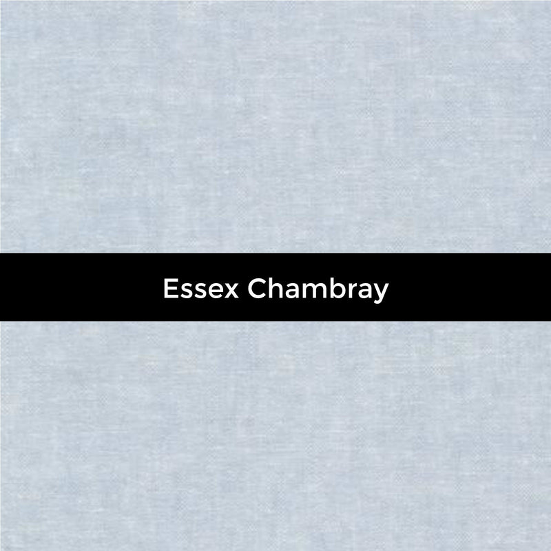 Essex Yarn Dyed Linen in Chambray - Priced by the Half Yard - brewstitched.com