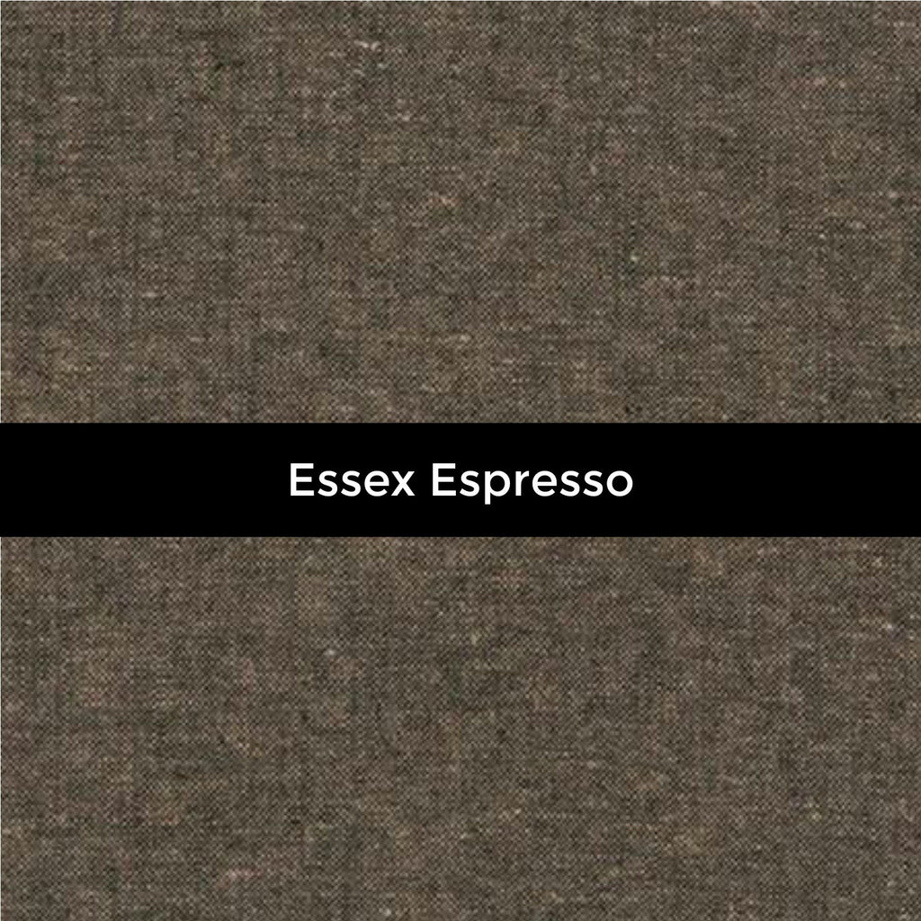 Essex Linen in Espresso - Priced by the Half Yard - brewstitched.com