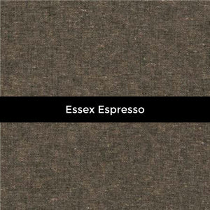 Essex Yarn Dyed Linen in Espresso - Priced by the Half Yard - brewstitched.com