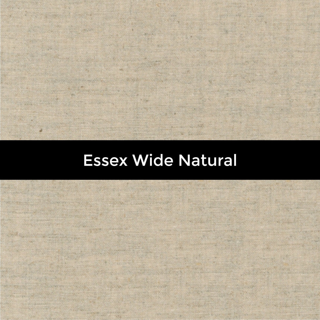 Essex Wide Linen in Natural - Priced by the Half Yard - brewstitched.com
