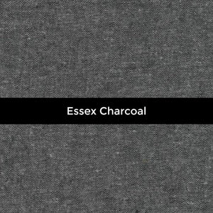 Essex Yarn Dyed Linen in Charcoal - Price by the Half Yard - brewstitched.com