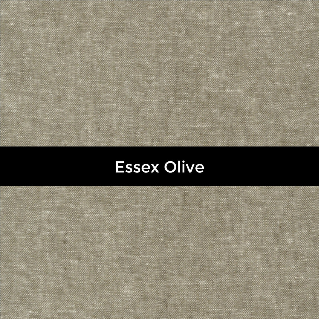 Essex Linen in Olive - Priced by the Half Yard - brewstitched.com