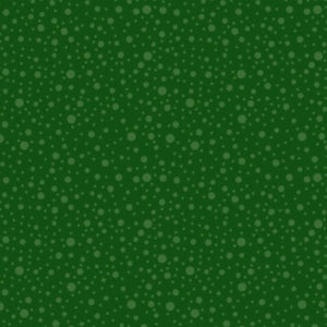 Dotty Dots Green on Green - Price by the Half Yard - brewstitched.com