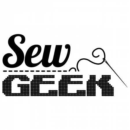 Sew Geek Vinyl Window Decal - brewstitched.com
