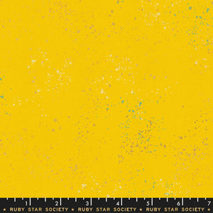 Speckled Metallic Sunshine - Priced by the Half Yard - brewstitched.com