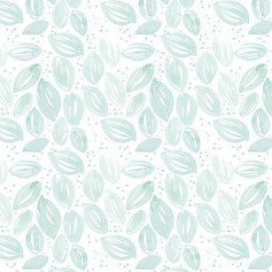 Artistic Garden Mint Leaves - Priced by the Half Yard - brewstitched.com