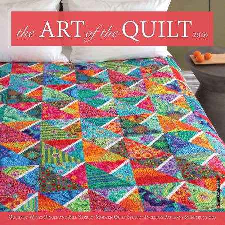 2020 Art Of The Quilt Wall Calendar - brewstitched.com